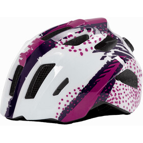 Cube Fink - Casco de bicicleta Niños - violeta/blanco